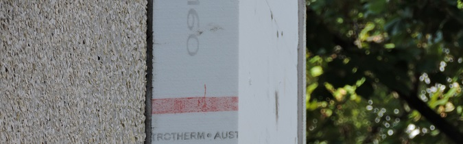 Austrotherm homlokzati hőszigetelés